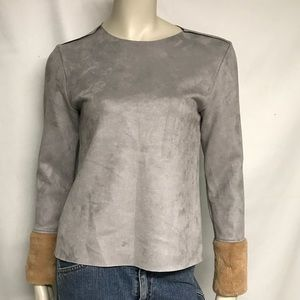 Zara W/B long sleeve top